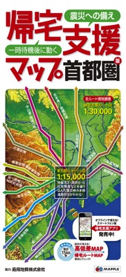 TokyoWalk map
