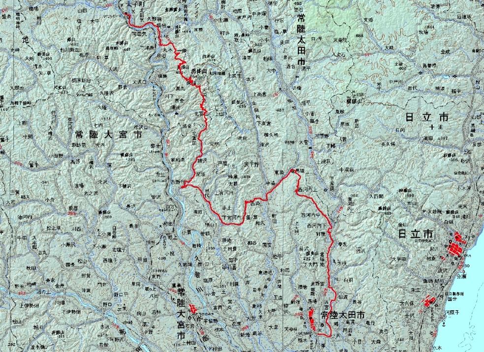 Tokiwaji map